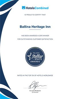 Best Hotel Accommodation Ballina