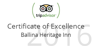 Certificate of excellence ballina