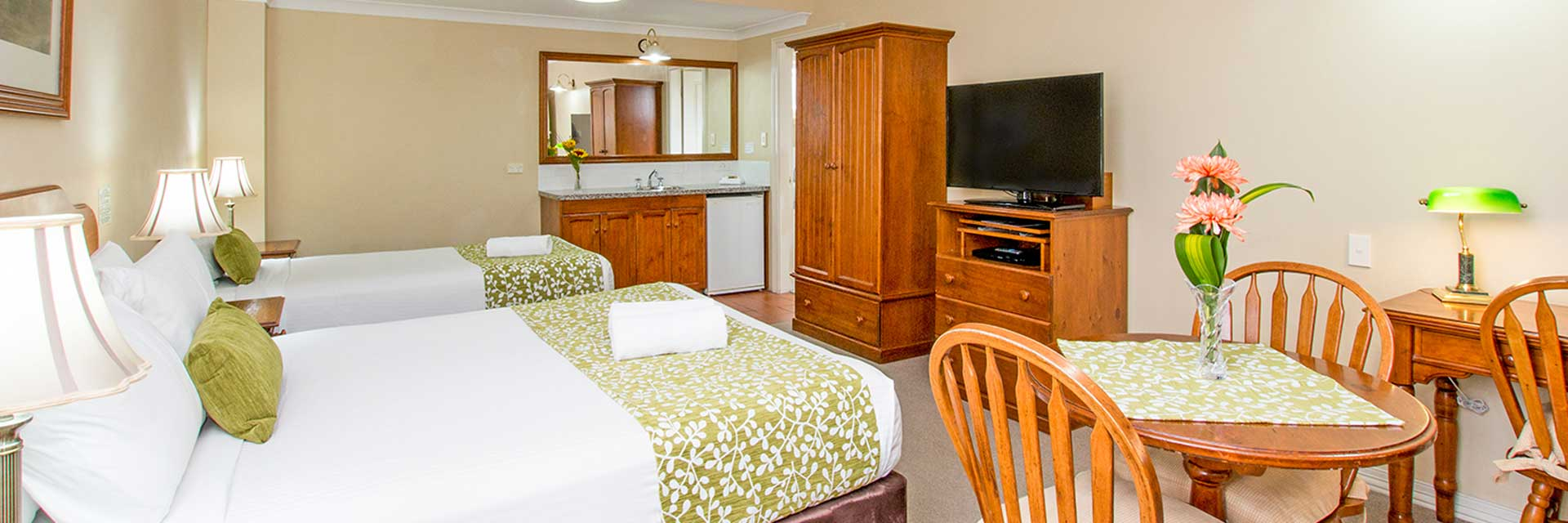 Large Twin Accommodation Ballina
